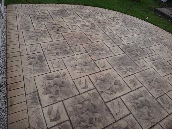 Pattern Imprinted Concrete Patios Manchester